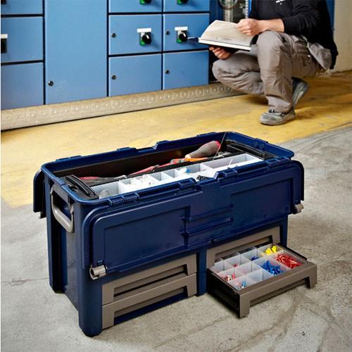raaco Werkzeugkoffer COMPACT 62
