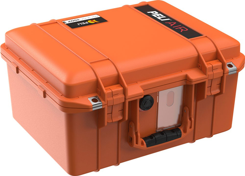 Peli Schutzkoffer 1507Air leer, orange
