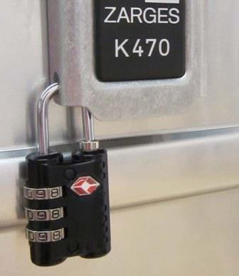 TSA Bügelschloss