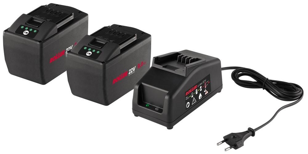 ROLLER'S Power-Pack 21,6V, 9,0Ah - 230V, 70W