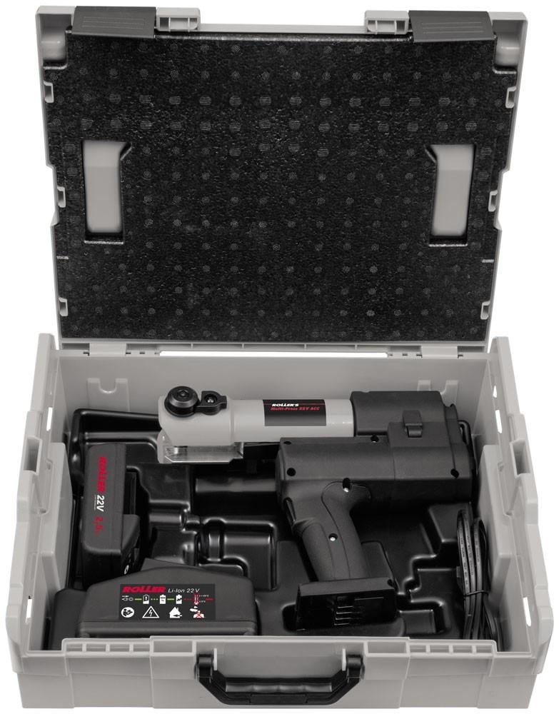 ROLLER'S Multi-Press 22 V ACC Basic-Pack im Systemkoffer L-Box