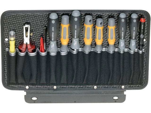 Werkzeugtafel, 1-seitig, mit 13 Einsteckfächer
