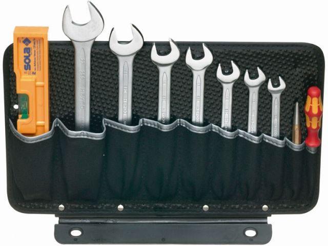 Werkzeugtafel, 1-seitig, mit 10 Einsteckfächer