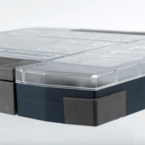 boxxser ID-Etikett grau