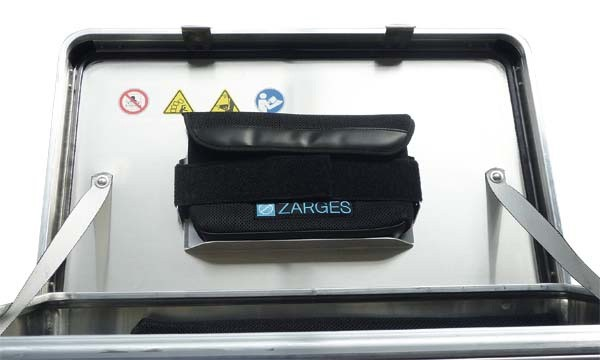 Deckeltasche klein für ZARGES Kiste