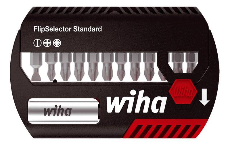 Wiha FlipSelector Standard, gemischt, 13-tlg. PH/PZ/Torx