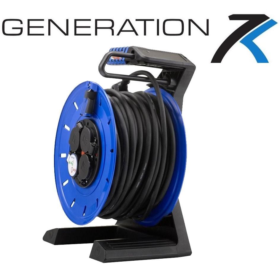 Vollkunstoffkabeltrommel HEDI Generation 7 mit Schleifring