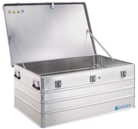ZARGES Pritschenbox K470, fest montierbar 40510 Inhalt 414 Liter  offen