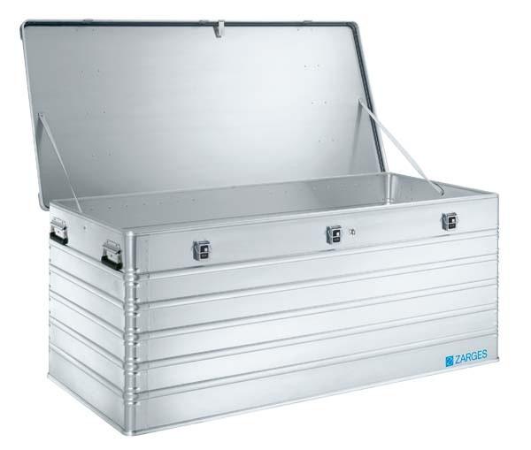 ZARGES Pritschenbox K470, fest montierbar 40511 Inhalt 829 Liter offen