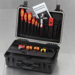 SOLID Wasserdichter Polypropylen-Werkzeugkoffer 5615