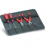 Werkzeugeinlage für Werkzeugdeckel, 2-tlg.