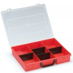 Sortimentbox, rot für systainer® T-Loc V