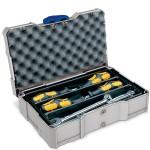 MINI-systainer® T-Loc I für Kleinteile mit 3-fach Einteilung lichtgrau