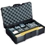 Universal-MINI-systainer® T-Loc I mit Universaltiefziehteil 8-fach anthrazit
