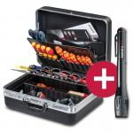"""PARAT """"Dreamteam"""" / CLASSIC Werkzeugkoffer mit Taschenlampe"""