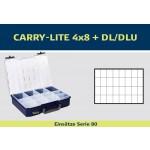 raaco Einsätze für CarryLite 80 4x8 + DL/DLU