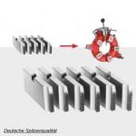 Schneidbacken Satz  für Universal-Automatik-Schneidkopf 2½ – 3